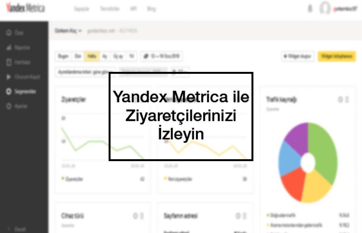 Yandex Metrica ile Ziyaretçi Analizi